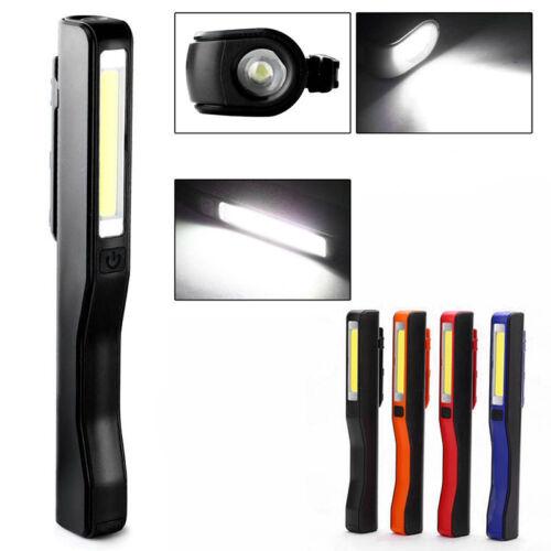 Led Magnétique Torche Flexible Lampe Inspection sans Fils à Main 3w Cob