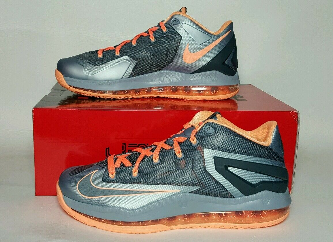 NIKE MEN'S MAX LEBRON XI LOW NEW BOX MULTIPLE SIZES 642849 002