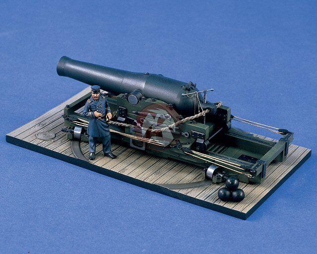 Verlinden 1 35 (54mm) (54mm) (54mm) XI-inch Dahlgren Naval Shell Gun with Figure 1422 9bb964