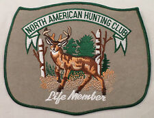 North American Hunting Club Life Member Large Advertising Uniform Patch #Msgr