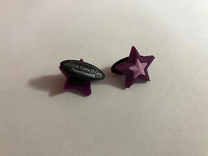 Purple Star Shoe-Doodle Purple Star Shoe Charm for Crocs Shoe Charms PSC001P