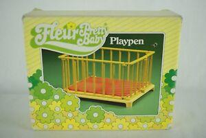 Otto-Simon-FLEUR-doll-Baby-Playpen-MIB-Dutch-Sindy-80-039-s
