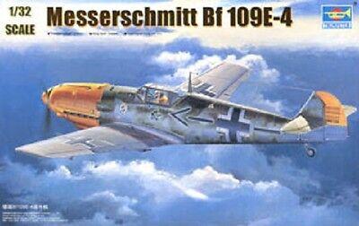 Trumpeter Scale Models [TSM] 1/32 Messerschmitt Bf 109E-4 Plastic Model Kit