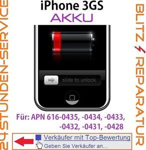 """iPhone 3GS Reparatur: Akku Austausch Batterie """"Gerät stürzt ab"""" Tausch """"defekt"""""""