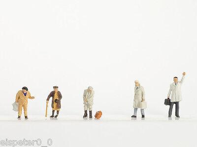 Vollmer 2283, Traccia N Personaggi Kit, Viaggiatori, 1:160, Nuovo-mostra Il Titolo Originale