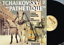 TCHAIKOVSKY Pathetique LSO Igor Markevitch Vinyl LP PHILIPS UK 6570 047 n/m-excl
