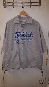 corte Moditec Tschick Stampa 18ss Striped maniche oversize Camicia a Sihouette v1v6q8