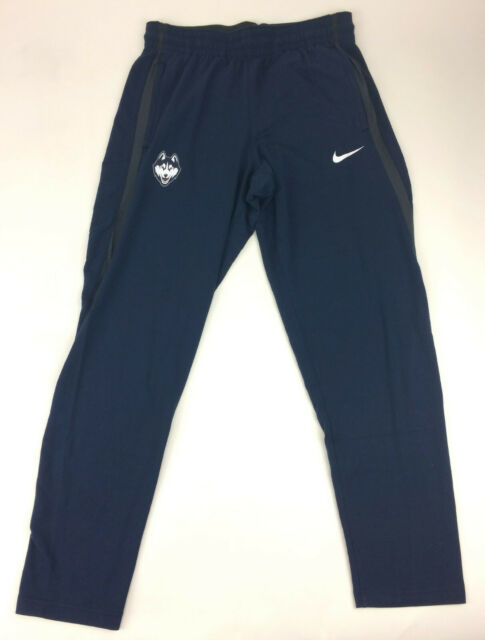 new product e9266 5ebce Nike UCONN Huskies Woman s Dri-fit Warm up Pants Navy Blue M Zip Pockets  Stretch