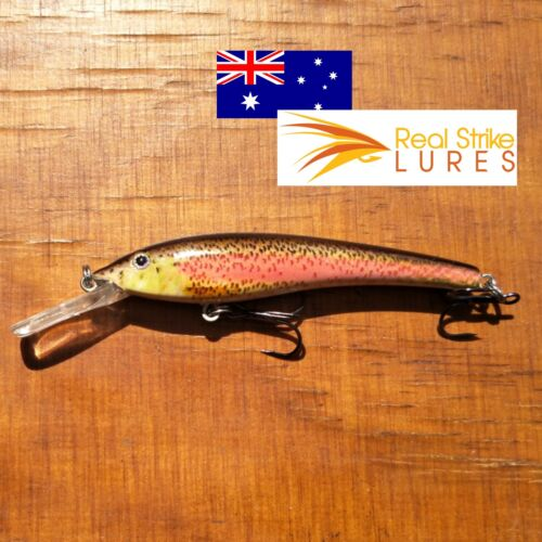 90mm Fishing lures Floating Trout Barra Redfin Bream Bass Cod Barra Freshwater