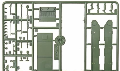 "Unimodel 227-1//72 Armored Troop-Carrier M7 /""KANGAROO/"" UM 227 Plastic Model Kit"