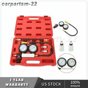 Petrol Engine Compression Leakage Leakdown Detector Cylinder Leak Tester Kits CA