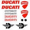 12 Adesivi DUCATI CORSE stickers Moto Racing Superbike Diavel Monster Panigale