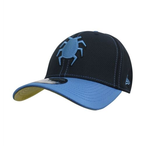 Blue Beetle Symbol Armor 39Thirty Fitted Hat Blue