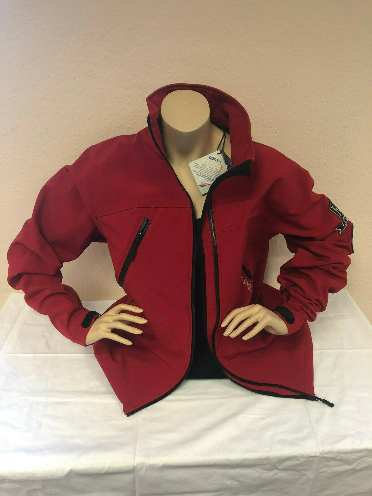 Kingsland Softshell Giacca ROSSO ROSSO ROSSO UNISEX TAGLIA L  NUOVO  d1d381