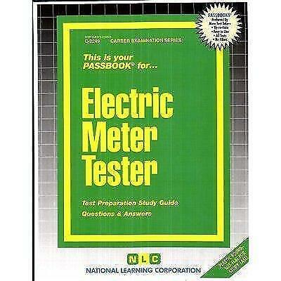 National Learning Corporation-Electric Meter Tester BOOK NEW