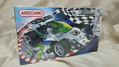 NEW /& Sealed Meccano Turbo 3350A//3350B 2 Models 90 Pieces