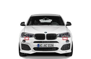 Neuf BMW Série 1 E82 E88 2007-2013 Pare Choc avant Crochet Remorquage Cache