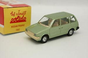 Solido-Hachette-1-43-Nissan-Prairie-1982-Verte