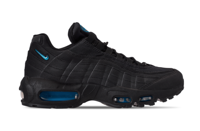Nike Air Max 95 Men's Shoes Size 10 Black/imperial Blue ...
