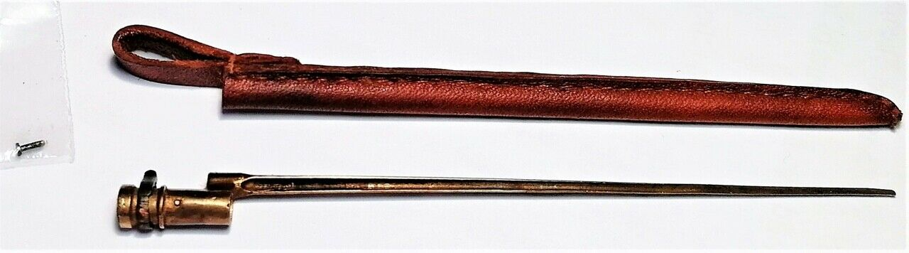 1//6 scale Russian ww1 ww2 Mosin Nagant bayonet M1891 metal custom made