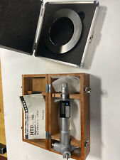 Mitutoyo 468 215 Digimatic Holtest Bore Mic 32 36 With 350004 Calibration Ring