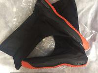 Japanese Tabi Shoes Marugo air Jog Ninja Boots Black Free Tracking Ship Japan