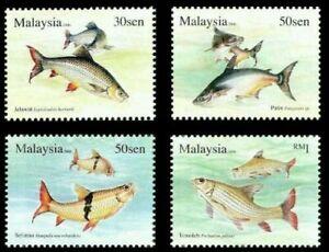 SJ-Fresh-Water-Fish-Series-III-Malaysia-2006-Animal-Natural-stamp-MNH