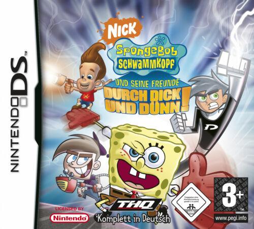 1 von 1 - SpongeBob Schwammkopf und seine Freunde: Durch dick und dünn (Nintendo DS, 2007)