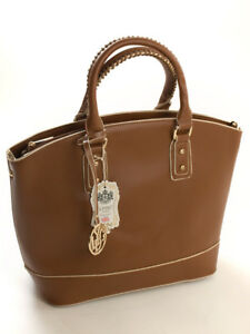 Borsa Tote a Lydc By Fashion Tote donna 441 mano Brown Design Bag Borsa da dRSqwwYg