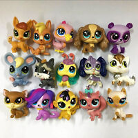 Random 15pcs Los Original LPS Littlest Pet Shop Figure Junge Mädchen Spielzeug