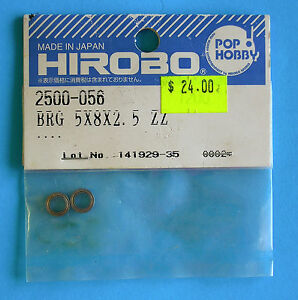 HIROBO-SPARE-PARTS-Bearing-8x8x2-5-ZZ-2500-056-NEW-IN-ORIGINAL-PACKAGNG