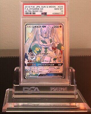 Pokemon GX Ultra Shiny 2018 SM8b 225//150 SSR Shiny Zygarde GX Japanese Full Art