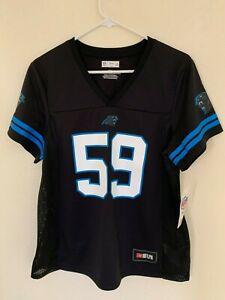 NFL Carolina Panthers Luke Kuechly #59 Majestic Camo Eligible T-Shirt Fan Apparel & Souvenirs XX-Large