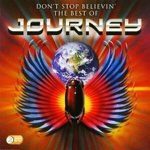 JOURNEY-2-CD-DON-039-T-STOP-BELIEVIN-039-THE-BEST-OF-GREATEST-HITS-NEW
