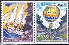 Griekenland  2004 2224c-2225c Europa CEPT