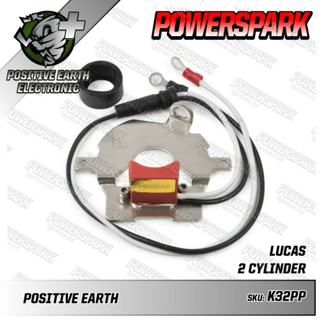 mga  accuspark 25d electronic ignition kit negative earth