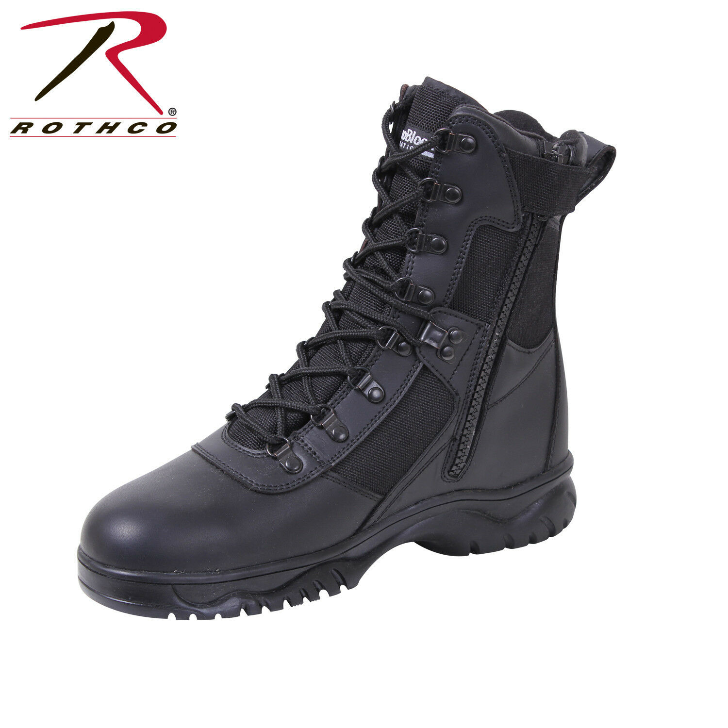 Rothco Rothco Rothco Insulated 8 Inch Side Zip Tactical Boot 3865cc