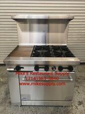 New 36 Lp Propane Range 4 Burner 12 Griddle Oven Base Stratus Sr 4g12 Lp 7268