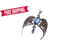 Harry Potter Deathly Hallows Ravenclaw crown necklace  horcrux free shippin