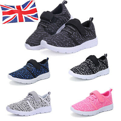 Kids Boys Girls Sports Running Shoes Sneakers Trainers Casual Athletic Shoes UK