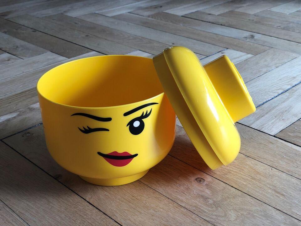 Lego andet, Opbevaringshoved, pige