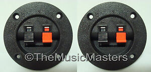 2-Screw-In-Terminal-Cups-for-Car-Home-Audio-Stereo-Speaker-Box-Cabinet-Enclosure