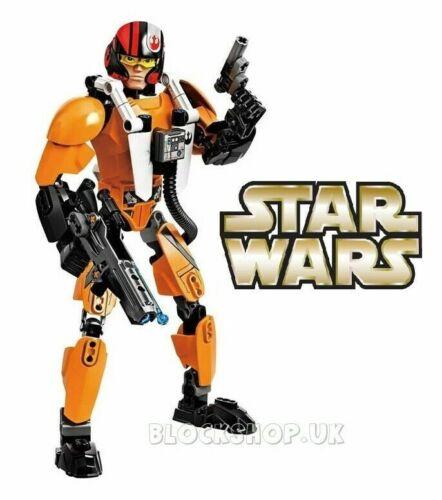 fits lego BIONICLE /& HERO FACTORY STAR WARS Buildable Figure POE DAMERON