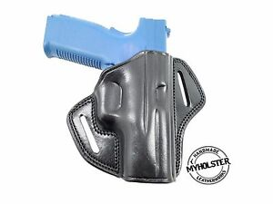 Details about Canik TP9SF Open Top Leather Belt Holster , MyHolster
