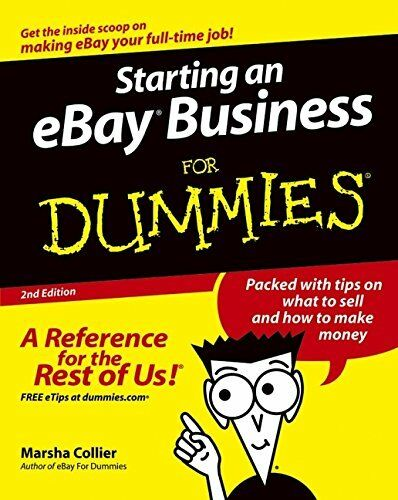Starting an eBay Business for Dummies, Second Edition by Collier, Marsha