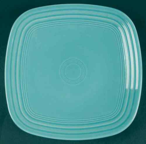 Square Luncheon Plate 8151804 CONTEMPORARY Homer Laughlin FIESTA TURQUOISE