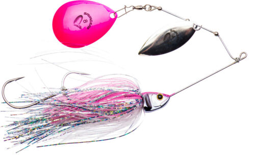 SAVAGE GEAR Da`Bush Spinnerbait Bucktail Hecht Spinner Größe /& Farbe wählbar