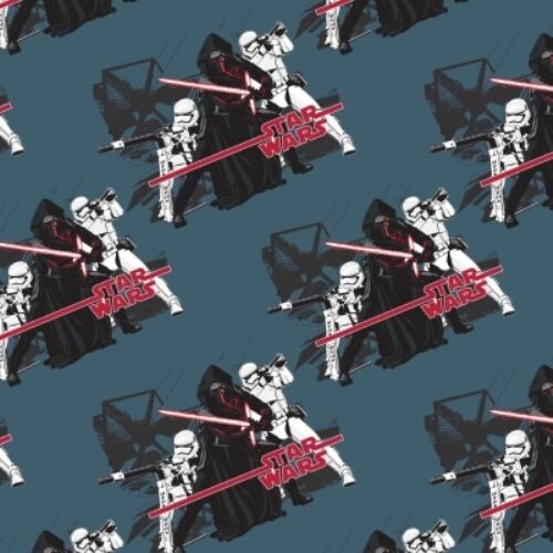 STAR WARS IMPERIAL KYLO REN STORM TROOPERS FABRIC