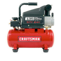 Craftsman 3 Gallon 1.0 Hp Oil-lubricated Air Compressor & Accessory Kit