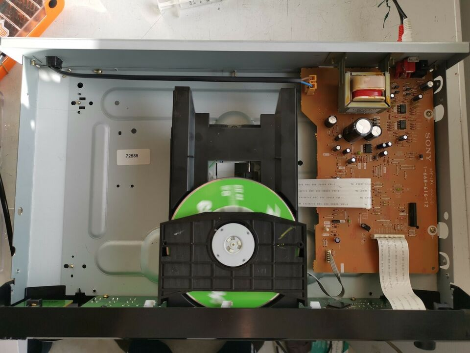 CD afspiller, Sony, cdp-xe320